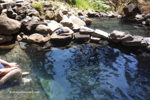 Cougar Hot Springs - Pools