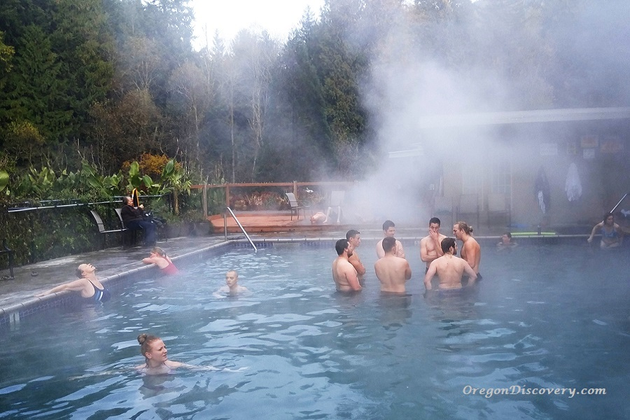 Belknap Hot Springs- Lower Pool