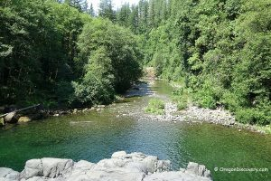 Salmon Falls - Little North Fork Santiam River