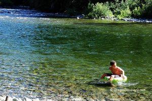 Little North Fork Swimming Spot