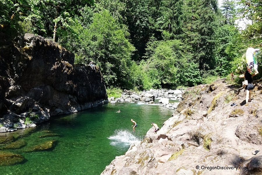 Elkhorn Valley - Little North Santiam River