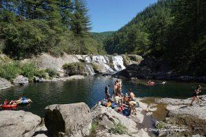Dougan Falls Swimming