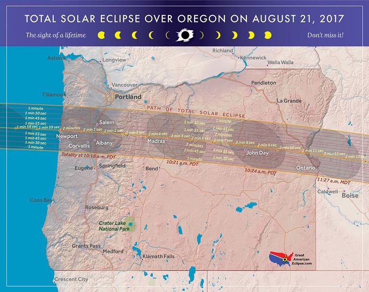 Total Solar Eclipse 2017 Facts Oregon Discovery