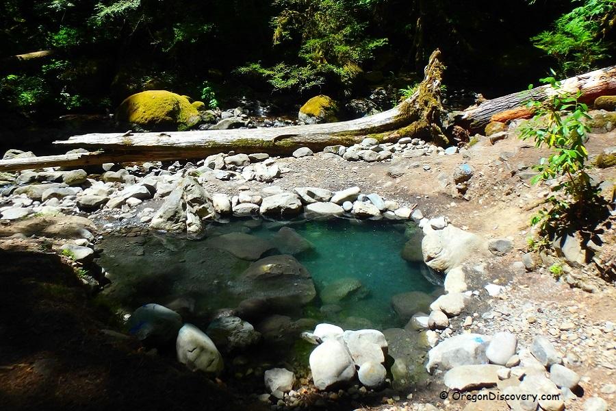 Wall Creek Warm Springs | Meditation Pool - Cascades