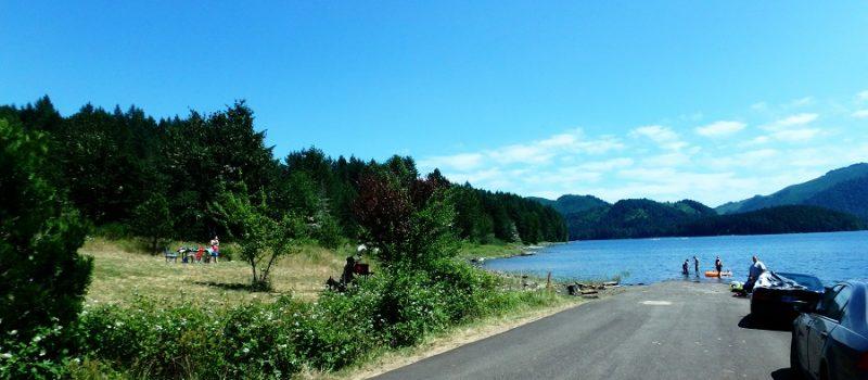 Fall Creek Lake – North Shore Day Use