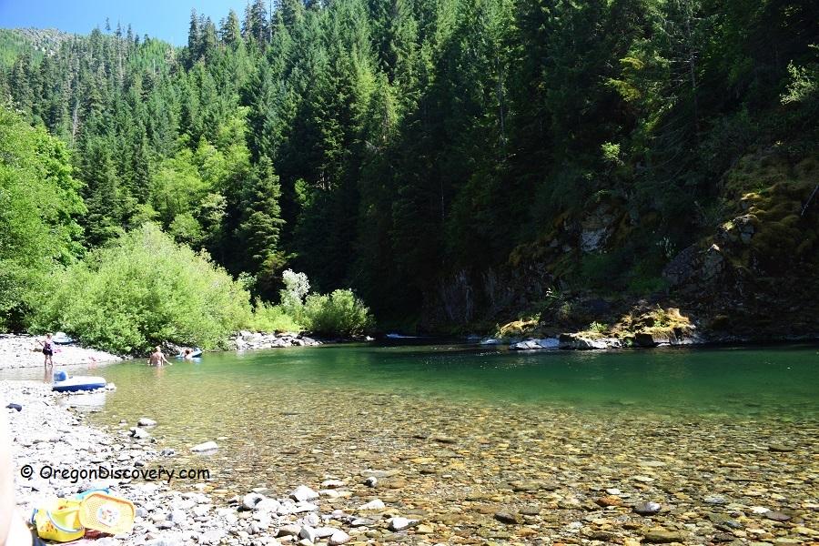 Quartzville Creek Swimming Area