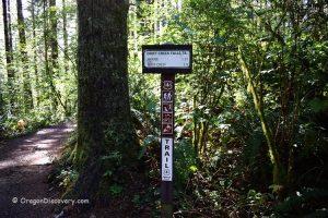 Drift Creek Falls - Trailhead