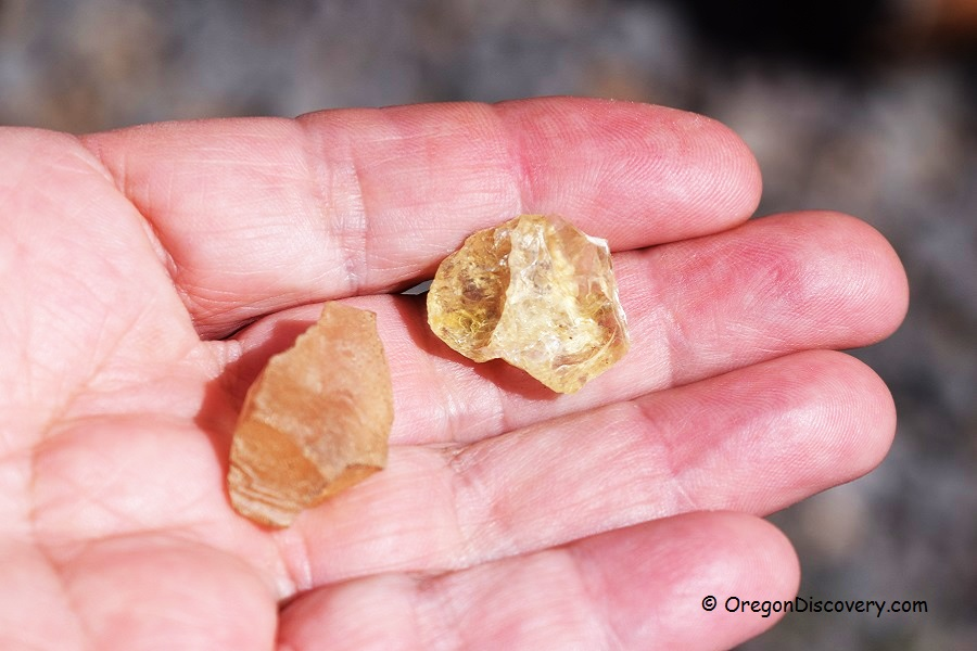 Oregon Sunstones