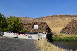 Juntura Hot Springs - Old Highway Bridge
