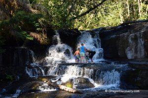 Alsea River Falls