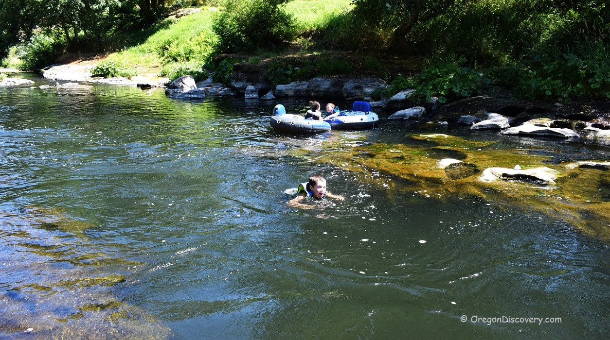 Alsea River Swimming