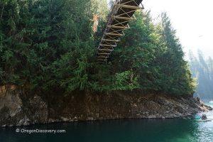 Blowout Creek Bridge Diving