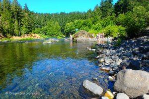 Alder Flat - Clackamas River