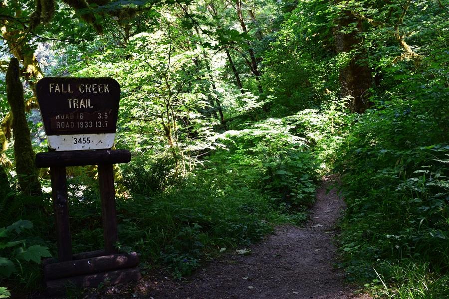 Fall Creek - Trailhead