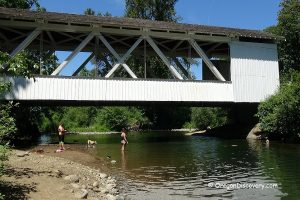 Larwood Covered Bridge Swimming