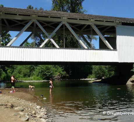Larwood Covered Bridge Swimming