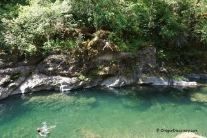 Elkhorn Valley - Little North Santiam Swimming