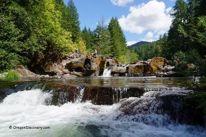 Little Falls - Steamboat Creek