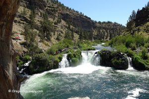 Steelhead Falls - Deschutes River