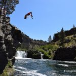 Steelhead Falls Cliff Jumping