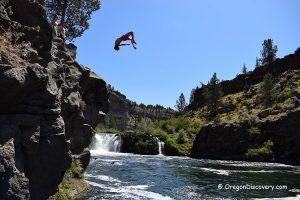 Steelhead Falls Cliff Jumping