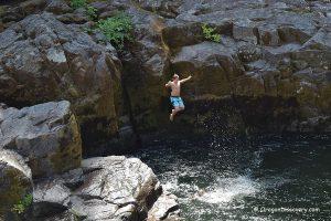 Little Falls - Cliff Jumping