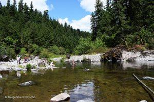 Steamboat Creek Swimming Hole