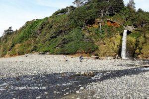 Short Beach Rockhounding