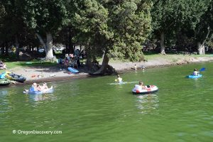 Lake Billy Chinook Swimming