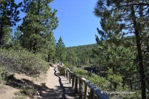 Tumalo Falls - Trail
