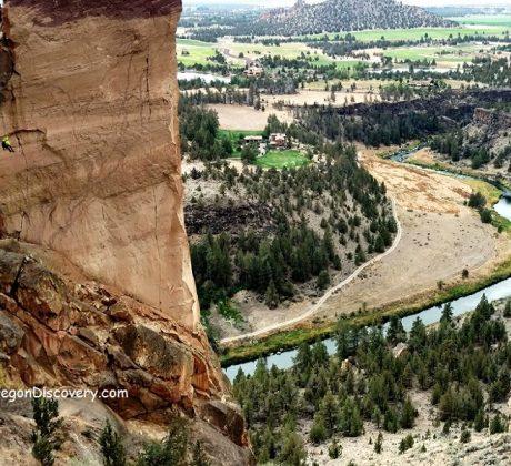 Smith Rock - Monkey Face Climbing