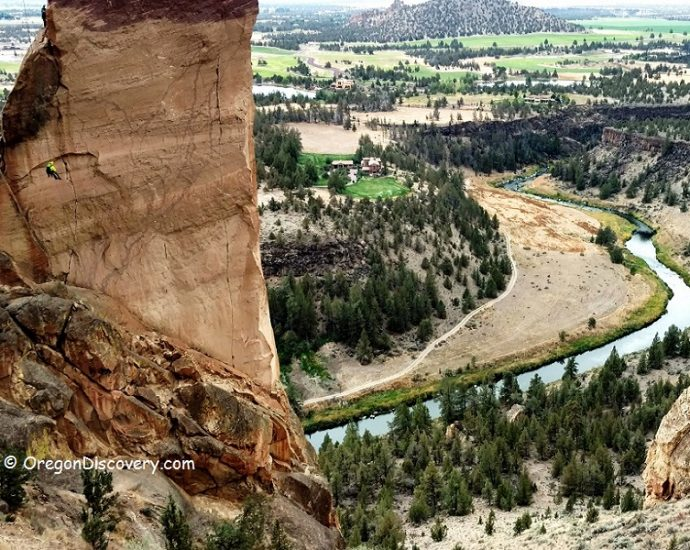 Smith Rock - Monkey Face Climbing
