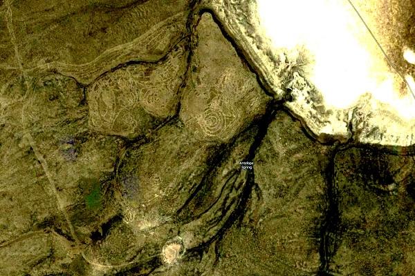 Flook Lake Canyon map