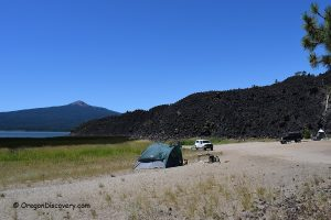 Davis Lake - Lava Flow Campground
