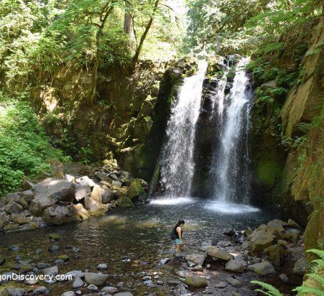 Majestic Falls - McDowell Creek Falls Park
