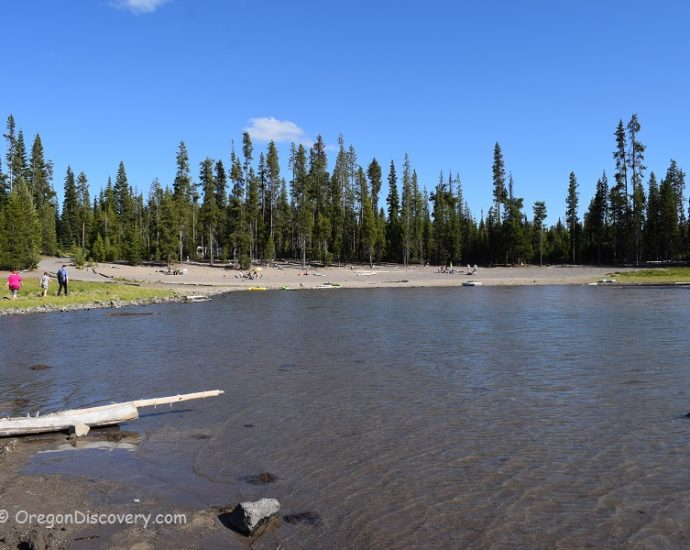 Elk Lake - Little Fawn Campground
