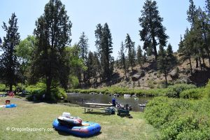 Tumalo State Park Swimming