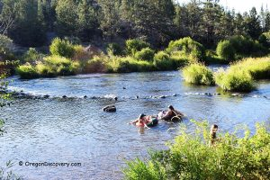 Cline Falls Swimming