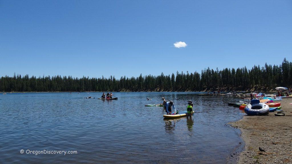 South Twin Lake Swimming