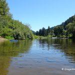 Siuslaw River Swimming