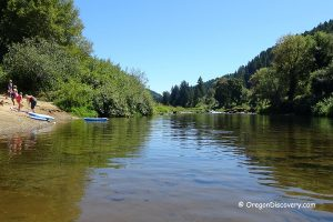 Siuslaw River Swimming