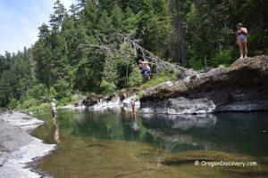 Three C Rock Swimming & Cliff Jumping