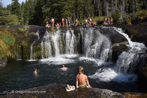 South Umpqua Falls Swimming