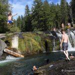South Umpqua Falls Cliff Jumping