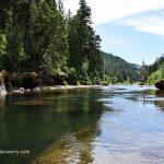 Three C Rock - South Umpqua River