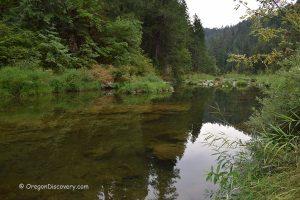 Boulder Creek Campground - South Umpqua River