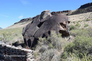 Greaser Petroglyphs Oregon