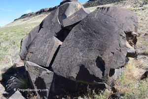 Greaser Petroglyph Oregon