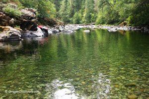 Canyon Creek - Little North Santiam River