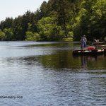 Coffenbury Lake Fishing
